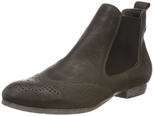 Think! Damen EBBS_383136 Chelsea Boots, Grün (62 Oliv), 40 EU