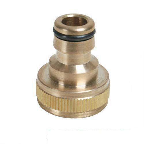 """Silverline 598438 - Conector rápido de latón para grifos (BSP 3/4"""" - 1/2"""" Macho)"""