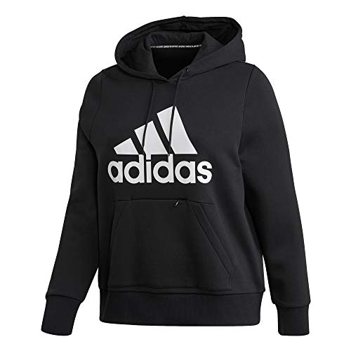 adidas W BOS OH HD IN Hooded Sweat, Mujer, Black, 1X