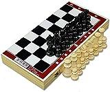 Juego de juegos de mesa de entretenimiento Juegos de ajedrez juego de ajedrez Solid Wood Placking Board Desktop Puzzle juego para el juego dedicado, regalos de ajedrez de aprendizaje infantil Juego de