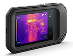 Compact 3 in 1 tool including thermal camera, visual inspection camera and LED floodlight True thermal 160 x 120 imager (19, 200 pixels) Patented MSX embosses visual details on the thermal image to create sharper, easier to understand picture FLIR cl...