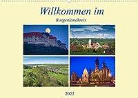 Willkommen im Burgenlandkreis (Wandkalender 2022 DIN A2 quer): Der Burgenlandkreis im suedlichen Sachsen-Anhalt von seiner schoensten Seite (Monatskalender, 14 Seiten )