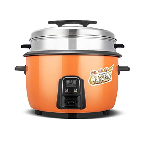 Amazing Deal Electric cooker Rice Cooker Large Capacity 8-60 People With Steamer Canteen Hotel Comme...