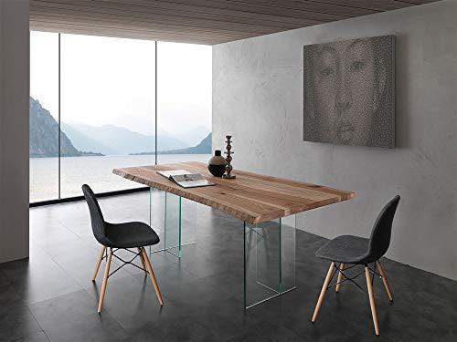 La Seggiola Tavolo Fisso in Vetro - Barro, 300 x 100 cm (Art. BIO)