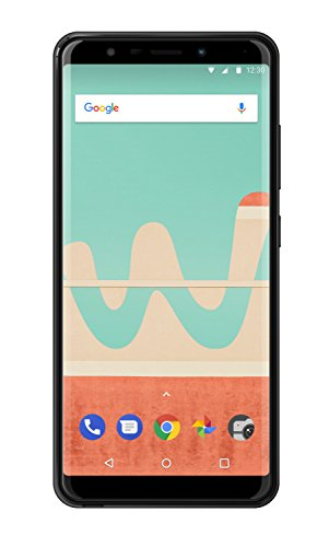 Wiko View Go Smartphone (14,5 cm (5,7 Zoll) Display, 16GB interner Speicher, Android 8.1 Oreo) anthrazit