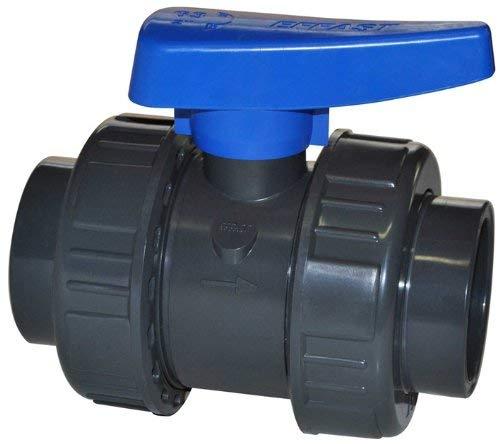 Effast PVC Kugelhahn 63 mm