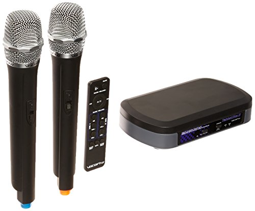 Check Out This VocoPro Digital Karaoke Mixer with Wireless Mics and Bluetooth Receiver (TabletOke-II...