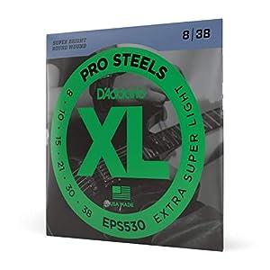Hechas de material de acero Altamente magnético Sonido super brillante Embalado con la tecnología de intercepción de corrosión Tamaño: .008 - .038