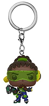 Funko Pop Keychain  Overwatch - Lucio Collectible Figure Multicolor