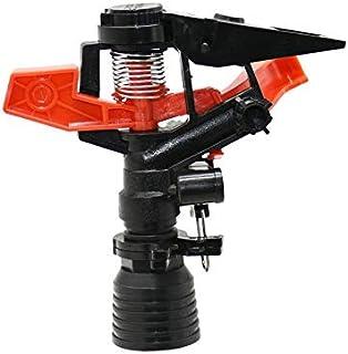 "XIXI Adjustable Male 1/2"" Rotating Sprinkler 3/4"" Female Rocker Nozzles Garden Lawn Sprinkler Greenhouse Watering 1PCS (Co..."