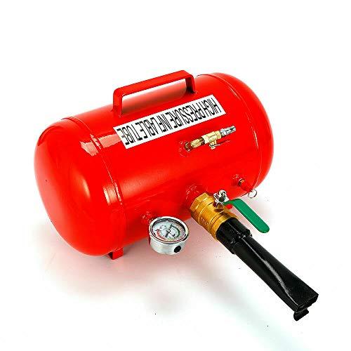 Reifenschockfüller - 5/10 Gallone Reifen Reifenfüller Booster aus Edelstahl,Airbooster Luftkanone Montage Befüllhilfe Geeignet für die Aufpumpung von verschiedener Reifen und Vakuumreifen (20L)