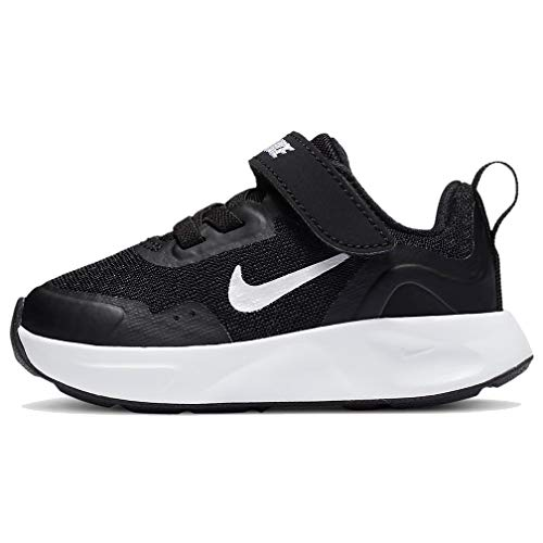 Nike WearAllDay (TD) Sneaker, Black/White, 25 EU