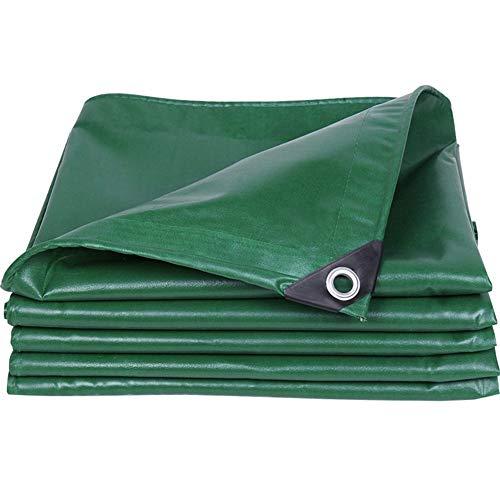 WFSH Thicken waterproof cloth waterproof sunscreen tarpaulin tarpaulin shade cloth truck tarpaulin waterproof cloth rain canvas canopy tear resistant double-sided waterproof (Size : 2m*3m)