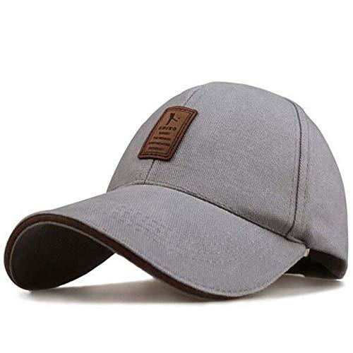 JYTBD Sombreros de Boutique al Aire Libre - Gorra de béisbol Gorra de béisbol Gorra Ajustable para Hombre Ocio Sombreros Ocio Color sólido Moda Snapback Verano Otoño Sombrero HIO Hop Cap para Mujeres