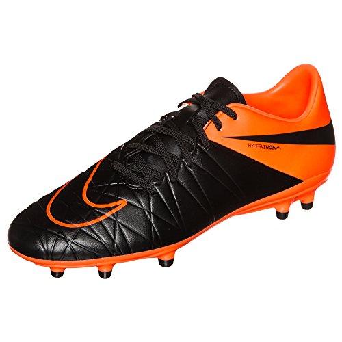Nike Stollenschuh Hypervenom Phelon Ii Tc Fg schwarz/orange EU 42.5 (US 9)