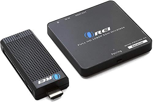OREI Wireless Pro HDMI Extensor transmisor y Receptor Dongle 1080P Kit – hasta 100 pies transmisión Desde portátil, PC, Cable, Netflix, Youtube, PS4 a HDTV/proyector