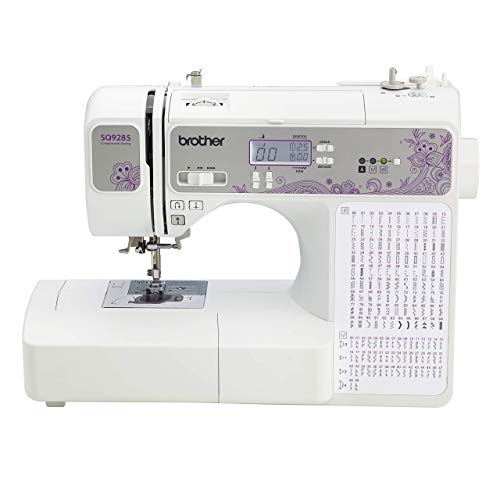 Brother 150-Stitch Computerized Sewing & Quilting Machine with Wide Table, White (Renewed)