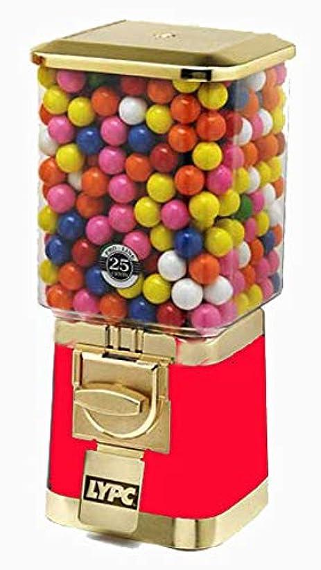ちらつきシェーバー溶かすプロ ゴールド ガムボール キャンディマシン レッド