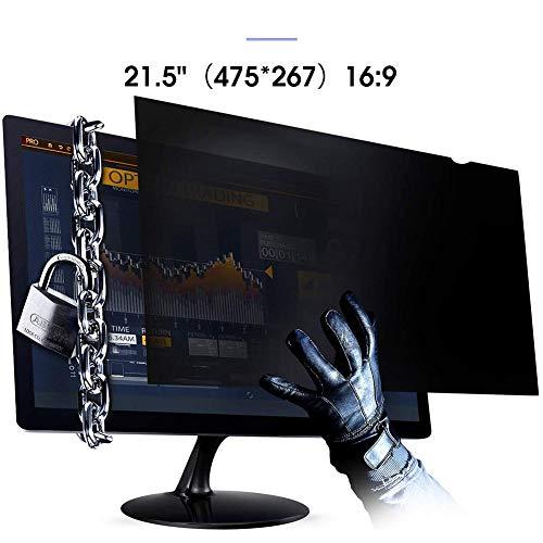 chivalrylist Schutz der Privatsphäre - 21-24 Zoll Seitenverhältnis Blickschutzfilter Blickschutzfolie Bildschirmschutz for Widescreen Computer Monitor