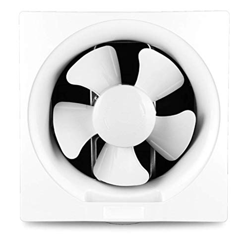RJSODWL Ventilador de ventilación - Ventilador de persiana de Escape Fuerte Flujo de Aire Reversible Ventilador de ventilación montado en la Pared