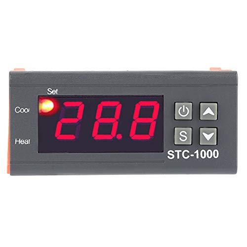 Termostato digital, termostato de enfriamiento de calefacción, terrarios de zoológico Control de temperatura para monitoreo de temperatura Incubadora de pollos de acuario