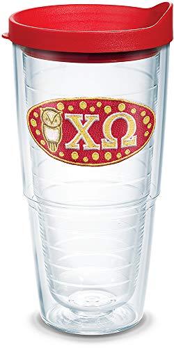 chi omega glass - 1
