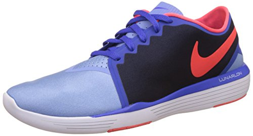 Nike Damen WMNS Lunar Sculpt Gymnastikschuhe, blau Chlk Bl helles dunkelrot Obsdn RCR, 35.5 EU