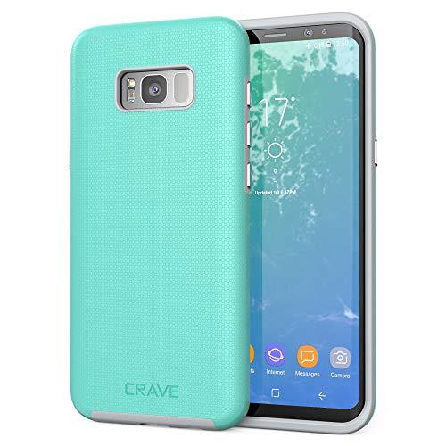 Crave Dual Guard Schutzhülle für Samsung Galaxy S8 Plus, Mintgrau