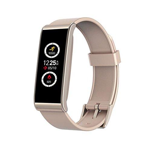 Reloj inteligente My Kronoz ZeFit 4HR con sensor cardiaco rosa y oro