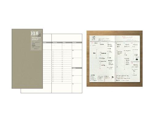 Midori Traveler's Notebook -Standard Size (Refill 018)