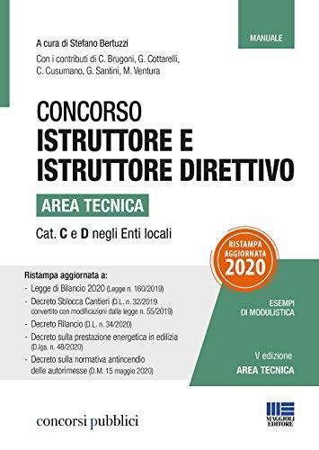 Concorso istruttore e istruttore direttivo area tecnica