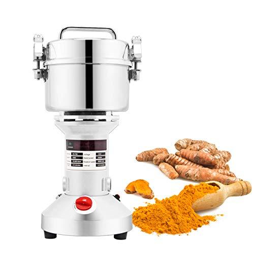 BAOSHISHAN 700g Electric Grain Mill Spice Herb Grinder Coffee Rice Pulverizer Powder Machine (220V)