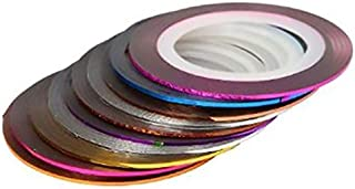 30Pcs Mixed Colors Rolls Striping Tape Line For Nail Art