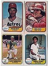 1981 fleer baseball cards