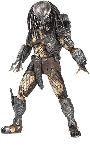 Hiya Toys Alien vs. Predator: Battle Damaged Celtic Predator 1:18 Scale Action Figure, Multicolor
