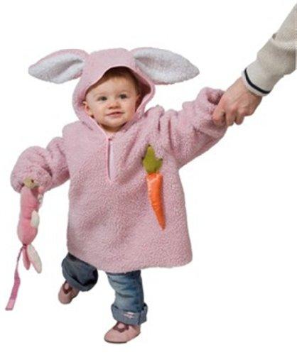 Rubies Disfraz de conejito rosa para bebé
