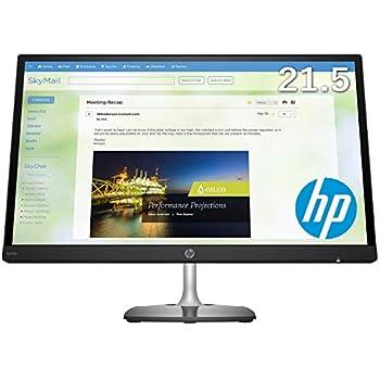 【高さ調節対応】HP N220h 21.5インチ フルHDディスプレイ 1920x1080 LED IPSパネル 高視野角 高さ調節 角度調節 ブルーライト軽減機能 VESA/ダイレクトマウント対応 VGA/HDMIケーブル付 4JF58P9-AAAA 3年保証