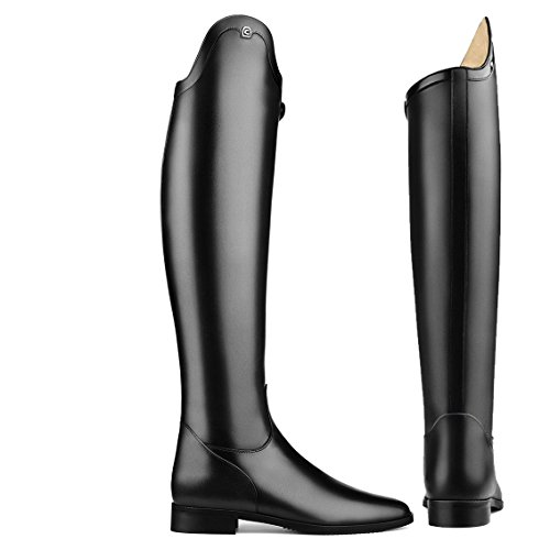 Cavallo Dressur Reitstiefel INSIGNIS , schwarz,, Schuhgröße:5 (D 38), Schafthöhe:48cm, Schaftweite:35cm