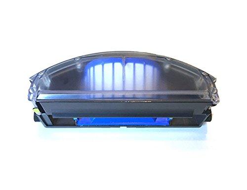 Lichifit iRobot ルンバ500・600シリーズ用ダストボックス 交換ビン ルンバ消耗品 青色フィルター付き