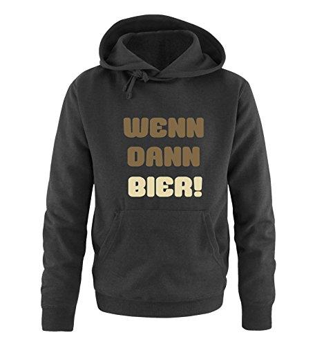 Comedy Shirts - Sweat-Shirt à Capuche - Manches Longues - Homme - Noir - XX-Large