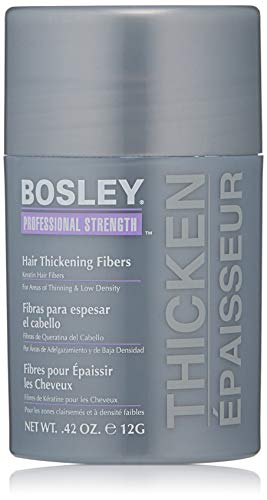 Bosley Professional Strength Hair Thickening Fibers, Medium Brown, 0.42 oz