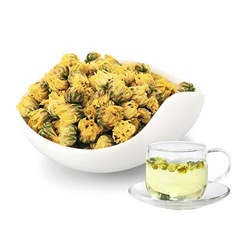Herbal Chrysanthemum Bud Tea - Taiju Natural Dried Chrysanthemum Flower Loose Leaf Tea - 80g Organic Chinese Flower Tea Decaffeinated