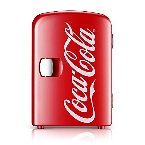 TJLSXXZ Mini refrigerador portátil hogar del coche de doble uso portable Mini refrigerador residencia de estudiantes Calefacción Refrigeración del cuadro de coche de 12V Refrigeración Frigorífico Prod