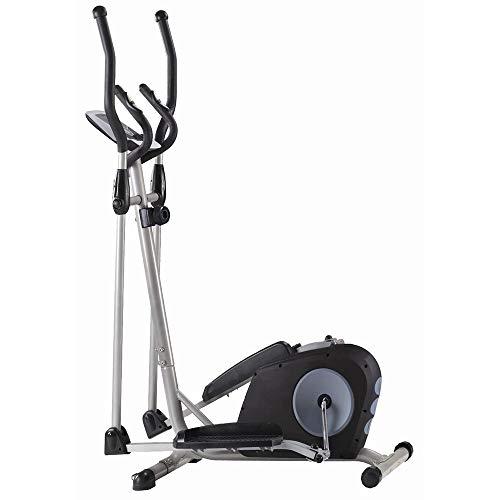 Dfghbn Entrenador Eliptico Entrenamiento Elíptica elíptica de la Bicicleta estática-Fitness Cardio Pérdida de Peso Equipo De Gimnasio En Casa De Entrenamiento Físico (Color : Black, Size : Free Size)