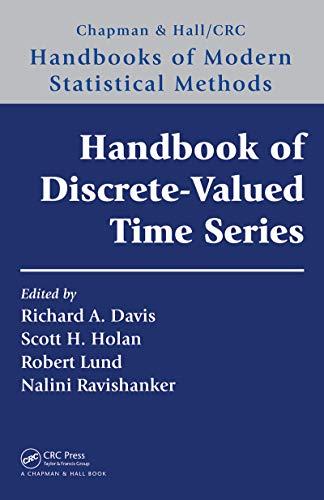 Handbook of Discrete-Valued Time Series (Chapman & Hall/CRC Handbooks of Modern Statistical Methods) (English Edition)