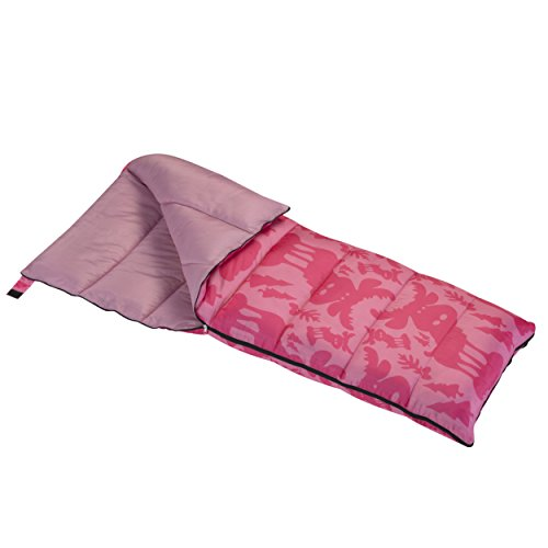 Wenzel Moose 40 Degree Sleeping Bag - Pink