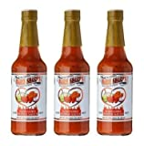 Marie Sharp's Hot Habanero Pepper Sauce 10 oz (pack of 3)