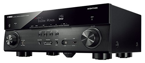Yamaha AVENTAGE Audio Video Component Receiver,Black RX A670BL
