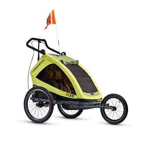 S.Cool TAXXI Elite for Two Lemon 2020 Kinderanhänger Fahrradanhänger