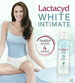 LACTACYD WHITE INTIMATE WHITENING DAILY FEMININE WASH HYPOALLERGENIC 60 ml